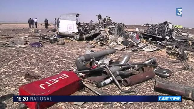 Crash d'un avion russe en Égypte : aucune hypothèse privilégiée