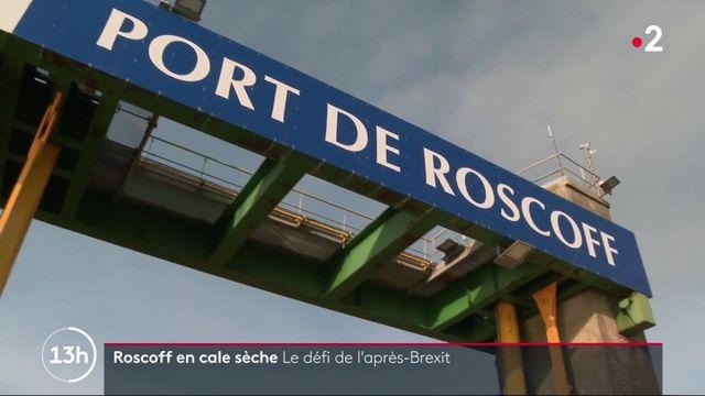 Economie : le port de Roscoff en difficulté après l'arrêt des traversées vers l'Angleterre