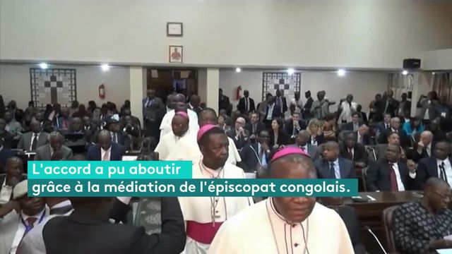 Sous la médiation des responsables religieux, la majorité et l'opposition ont signé un texte limitant les pouvoirs de l'actuel président Joseph Kabila, au pouvoir depuis 2001, jusqu'à l'élection de son successeur.