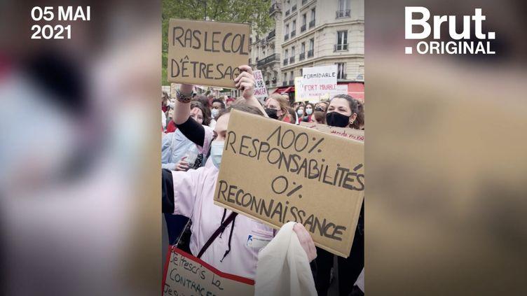 VIDEO. Colère des sages-femmes face au manque de reconnaissance (BRUT)