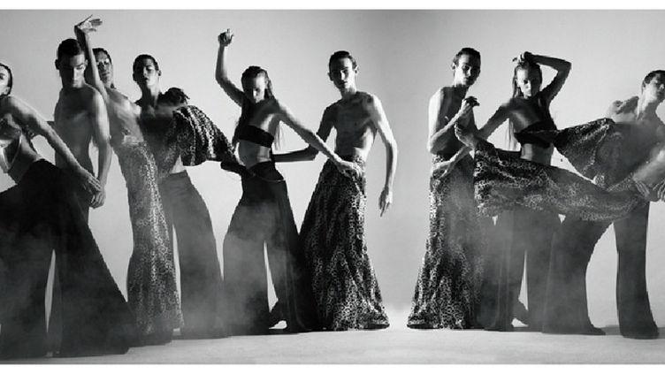 """""""Dancing smoking"""" de Stéfanie Renoma  (Frédéric Monceau)"""