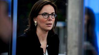 La ministre de la Transformation et de la Fonction publique, Amélie de Montchalin, à Bruxelles, en Belgique, le 25 février 2020. (KENZO TRIBOUILLARD / AFP)