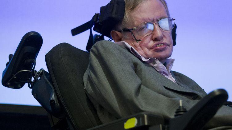 L'astrophysicien Stephen Hawking, le 2 décembre 2014. (JUSTIN TALLIS / AFP)