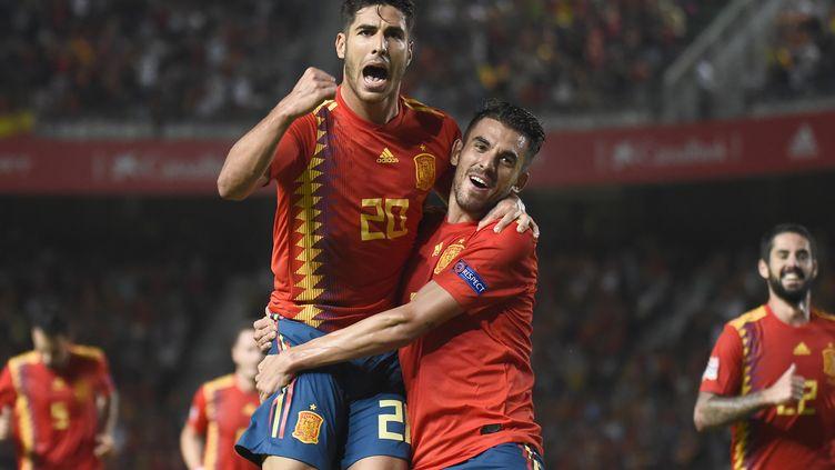 Marco Asensio a fait couler la Croatie (JOSE JORDAN / AFP)