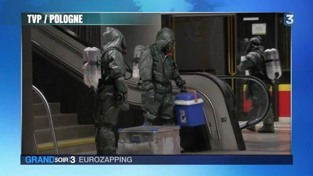 Eurozapping : La Pologne se prépare à une attaque chimique