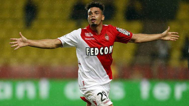 Le joueur de l'AS Monaco, Emmanuel Rivière