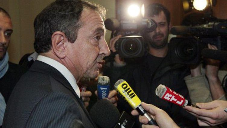 Le patron du renseignement à la sortie de son audition (JACQUES DEMARTHON / AFP)