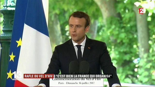 Commémoration du Vel' d'Hiv : Emmanuel Macron prononce un discours solennel devant Benyamin Netanyahou