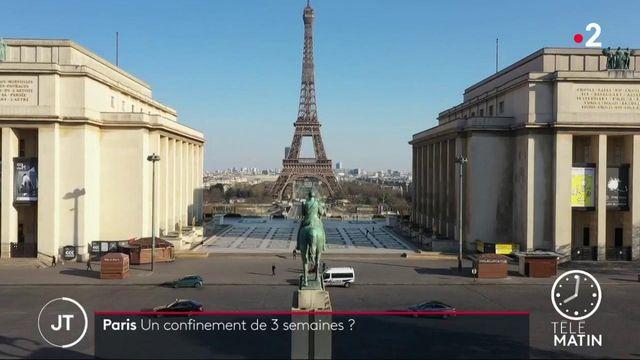 Covid-19: la mairie de Paris plaide pour un confinement de trois semaines