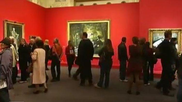 Le Louvre - Paris mercredi 28 décembre 2011 (VIDÉO :DANIEL WOLFROMM ET ARNAUD JACQUES - FERANCE 2)