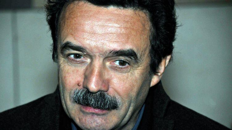 Le journaliste Edwy Plenel, directeur du site Mediapart, le 7 janvier 2013 à Paris. (CITIZENSIDE.COM / AFP)