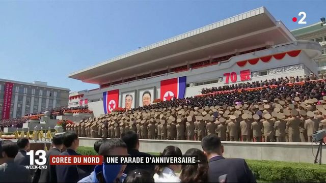 Corée du Nord : une parade d'anniversaire