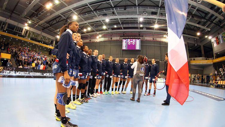 L'équipe de france de handball féminin
