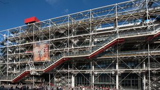 Le Centre Pompidou à Paris  (Photo12 / Gilles Targat / AFP)