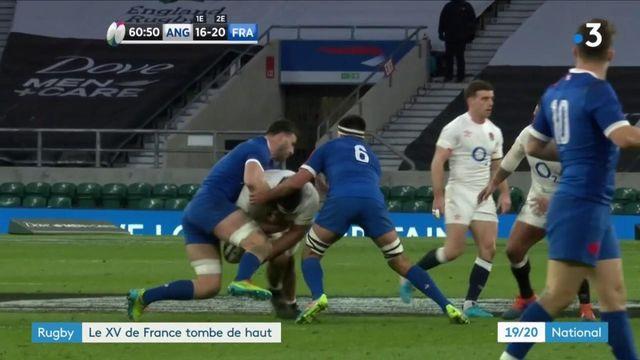 Tournoi des VI Nations : la France s'incline face à l'Angleterre