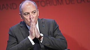 Le PDG d'Orange, Stéphane Richard, à Paris, le 9 avril 2013. (MAXPPP)