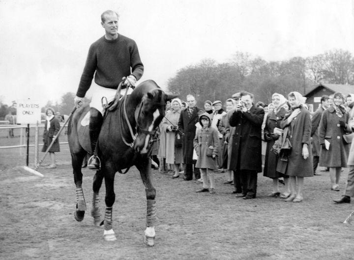 Le Prince Philip a remporté plusieurs compétitions prestigieuses de polo.  (KEYSTONE PICTURES USA / KEYSTONE PICTURES USA)
