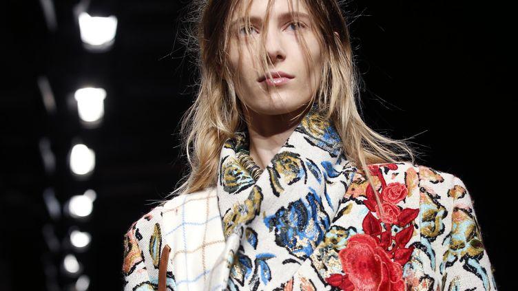 Vivienne Westwood ah 2016-17 à la London Fashion week, mars 2016  (Patrick KOVARIK / AFP)