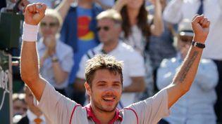 (Stan Wawrinka remporte Roland Garros pour la première fois de sa carrière © Reuters-Vincent Kessler)