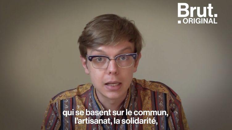 """VIDEO. """"La décroissance, un point de départ pour un million de sociétés possibles"""", estime Félicien Bogaerts (BRUT)"""