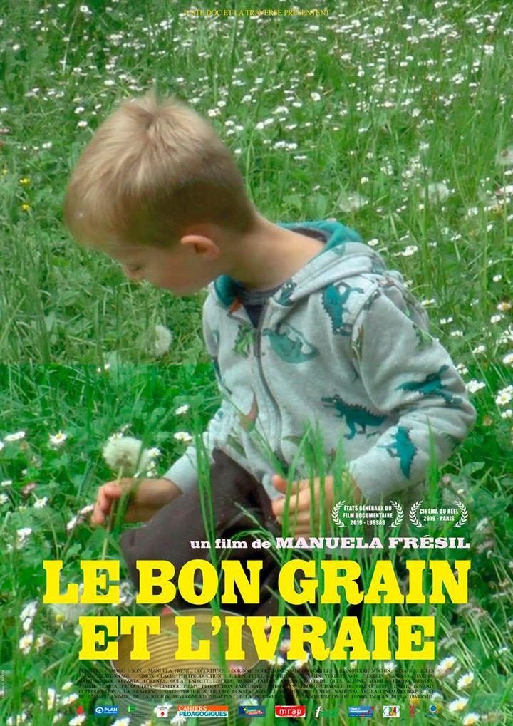 """L'affiche du documentaire """"Le Bon Grain et l'Ivraie"""" (Manuela Frésil). (Juste Doc)"""