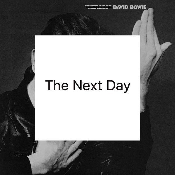 """La pochette de l'album """"The Next Day"""" de David Bowie revisite celle de """"Heroes"""".  (Droits réservés)"""