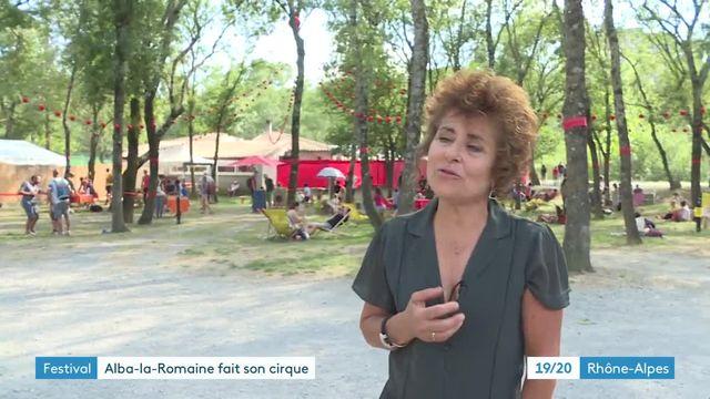 Alba-la-Romaine fait son cirque