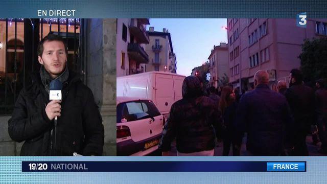 Incidents à Ajaccio : des discussions entre les manifestants et la préfecture