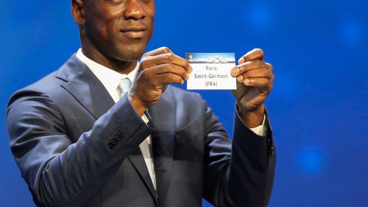 Clarence Seedorf a eu la main heureuse pour le Paris Saint-Germain (VALERY HACHE / AFP)