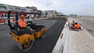 Travaux d'aménagement à Dunkerque le 21 février 2019 (image d'illustration) (MARC DEMEURE / MAXPPP)