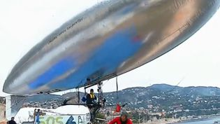 ballon gonflable (FRANCE 3)