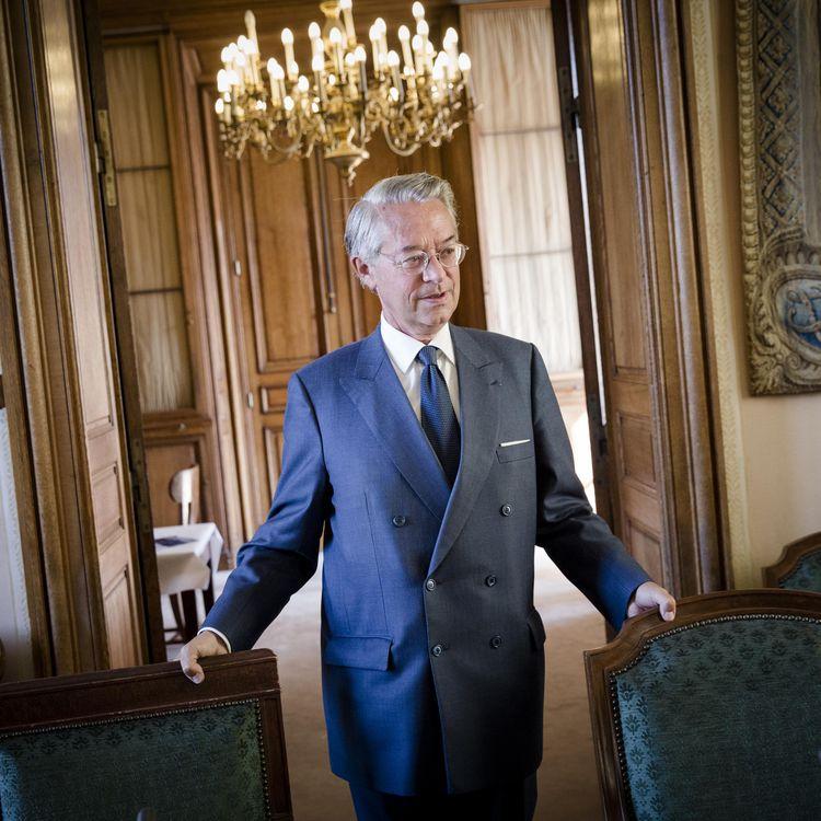 Le sénateur-maire UMP de Compiègne (Oise), Philippe Marini, le 9 septembre 2014 à Paris. (MAXPPP)