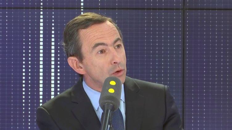 Bruno Retailleau, président du groupe Les Républicains au Sénat, sénateur LR de Vendée. (FRANCEINFO)