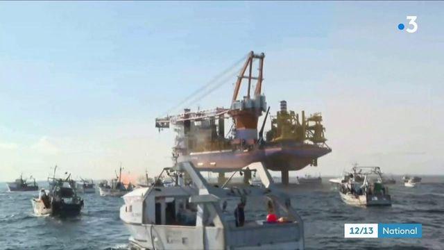 Pollution : une fuite d'huile de près de 16 kilomètres dans la baie de Saint-Brieuc