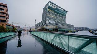 Le nouveau musée Edvard Munch à Oslo (19 octobre 2021) (STIAN LYSBERG SOLUM / EPA/NTB)