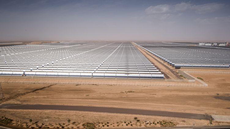 Centrale solaire de Ouarzazate dans le désert marocain. Un exemple pour l'Algérie ? (MAGNUS HJALMARSON NEIDEMAN/SVD / TT NEWS AGENCY)