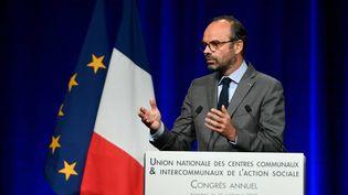 Le Premier ministre Edouard Philippe, le 15 octobre 2018 à Nantes (Loire-Atlantique). (MAXPPP)