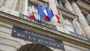 La façade du ministère de la Justice, place Vendôme à Paris. (CHRISTOPHE LEHENAFF / PHOTONONSTOP / AFP)