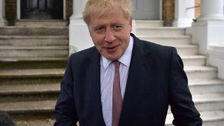 Boris Johnson, le 7 juin 2019, à Londres (Royaume-Uni). (DANIEL LEAL-OLIVAS / AFP)