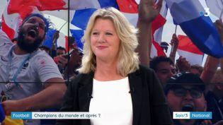 Brigite Henriques, vice-présidente déléguée de la FFF (France 3)