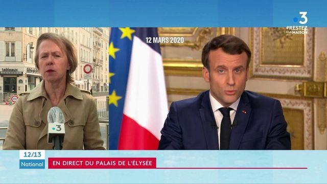 Emmanuel Macron: une allocution pour rassurer