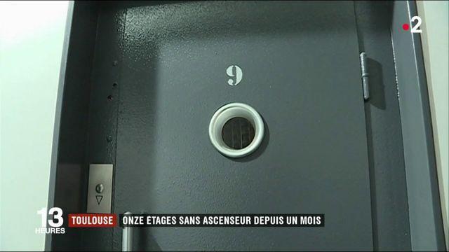 Toulouse : un immeuble de 11 étages privé d'ascenseur depuis un mois