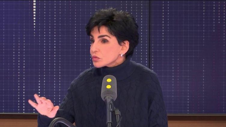 """L'eurodéputée LR, maire du 7e arrondissement de Paris, invitée du """"8h30 Fauvelle-Dély"""", vendredi 25 janvier 2019. (FRANCEINFO / RADIOFRANCE)"""