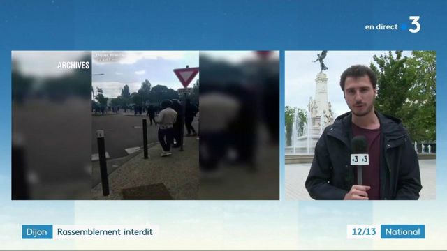 Dijon : une manifestation interdite, par crainte de nouvelles violences