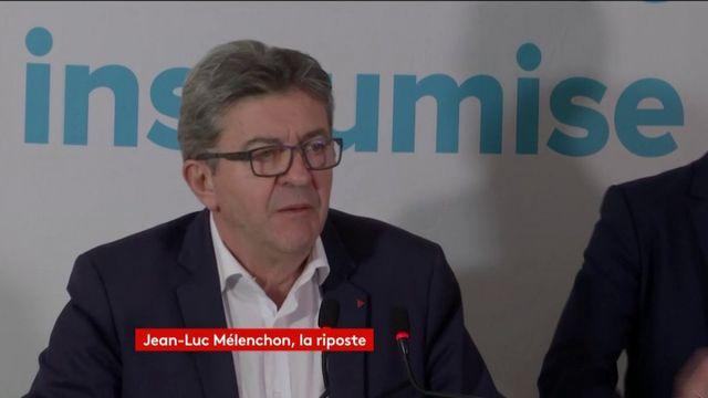 """Mélenchon demande """"l'annulation de la perquisition"""" de la France insoumise"""