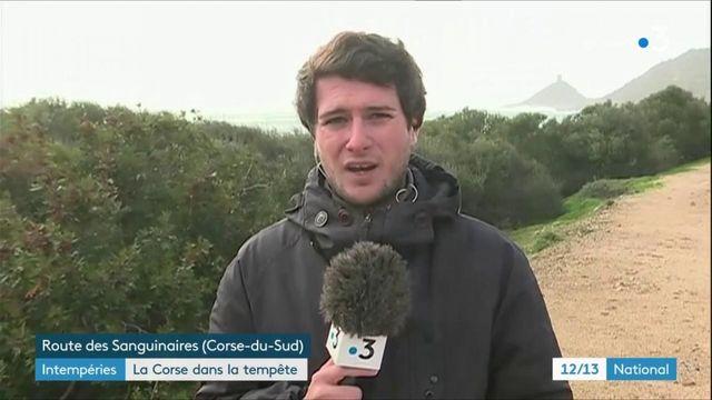 Intempéries : la Corse dans la tempête Fabien