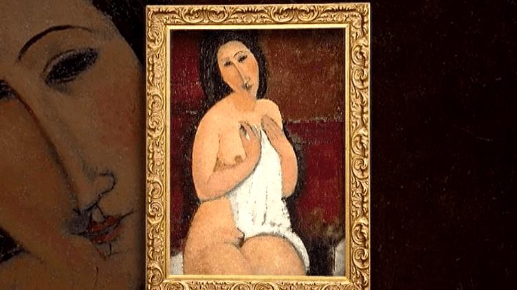 """L'exposition """"L'oeil intérieur"""" du LaM de Villeneuve d'Ascq présente plus de cent oeuvres du peintre figuratif italien  (France 2 / Culturebox capture d'écran)"""
