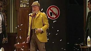 """Le spectacle """"Les Faux British"""" rencontre un franc succès à Paris. (CAPTURE D'ÉCRAN FRANCE 3)"""