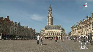 La place des Héros à Arras. (France 2)