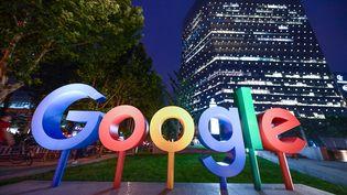 Les bureaux de Google à Pékin, le 7 août 2018. (MAXPPP)